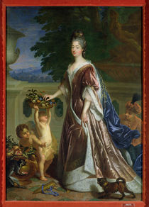 The Duchess of Maine  by Francois de Troy