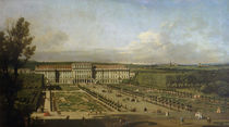 Schonbrunn Palace and gardens by Bernardo Bellotto