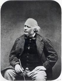 Honore Daumier  by Etienne Carjat