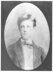 Portrait of Arthur Rimbaud  by Etienne Carjat