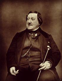 Gioacchino Rossini  von Etienne Carjat