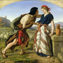 The Meeting of Jacob and Rachel von William Dyce