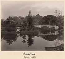 Island pavilion in the Cantanement Garden von Philip Adolphe Klier