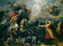 Allegory of the Battle of Marengo  von Antoine Francois Callet