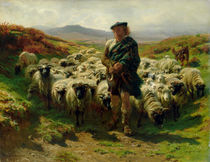 The Highland Shepherd by Rosa Bonheur