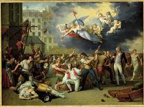 Massacre of the Marquis de Pellepont by Charles Thevenin