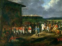 The English Prisoners at Astorga Being Presented to Napoleon Bonaparte  von Hippolyte Lecomte