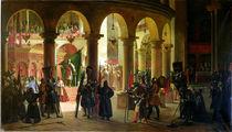 Godfrey of Bouillon  von Francois-Marius Granet