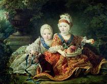 Louis de France  von Francois-Hubert Drouais