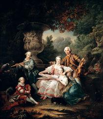 Louis du Bouchet  von Francois-Hubert Drouais