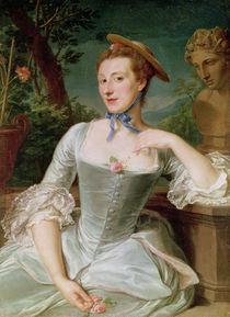Jeanne Antoinette Poisson  von Francois-Hubert Drouais