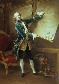 The Comte de Vaudreuil von Francois-Hubert Drouais