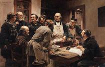 The Lesson of Claude Bernard  von Leon Augustin Lhermitte