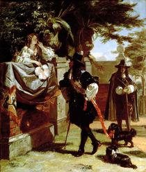Charles II  von Edward Matthew Ward