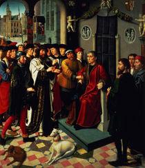 The Judgement of Cambyses von Gerard David