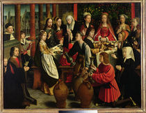 The Marriage Feast at Cana by Gerard David
