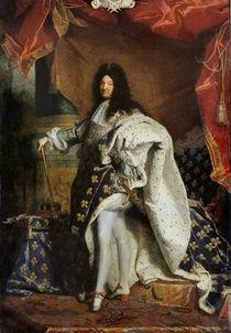 Louis XIV  von Hyacinthe Rigaud
