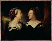 Double Portrait of Marie Serre by Hyacinthe Rigaud