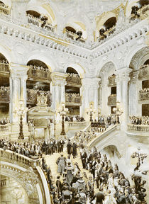 Inauguration of the Paris Opera House von Jean-Baptiste Edouard Detaille