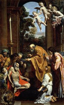The Last Sacrament of St. Jerome by Domenichino