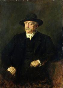 Chancellor Otto von Bismarck  von Franz Seraph von Lenbach