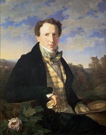 Self portrait von Ferdinand Georg Waldmuller