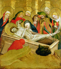 The Entombment von Master Francke