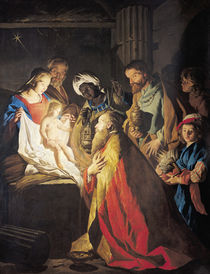 The Adoration of the Magi  by Stomer