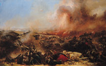 The Battle of Sebastopol by Jean Charles Langlois