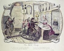The Gin Shop von George Cruikshank