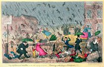Very Unpleasant Weather von George Cruikshank