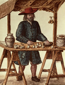 Venetian Tobacco Vendor  by Jan van Grevenbroeck