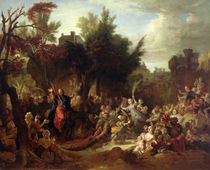 The Entry of Christ into Jerusalem von Nicolas de Largilliere