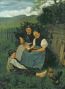The End of the Day von Hans Thoma