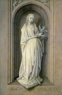 St. Genevieve  by Hugo van der Goes