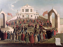 Game of Football at Sant'Alvise by Gabriele Bella