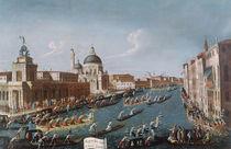 The Women's Regatta on the Grand Canal von Gabriele Bella