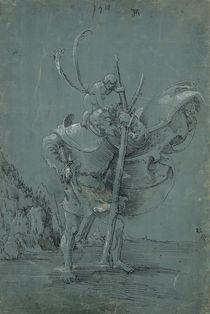 Saint Christopher von Albrecht Altdorfer