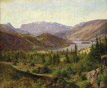 Hjelle in Valders by Louis Gurlitt