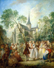 The Wedding Dance  by Nicolas Lancret