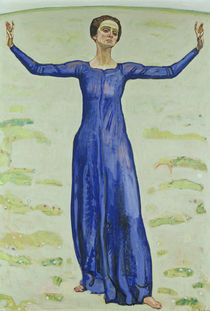 Song in the Distance by Ferdinand Hodler