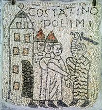 Pavement of St. John the Evangelist von Byzantine