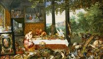 The Sense of Taste von Jan Brueghel
