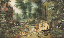 The Sense of Smell  by Jan Brueghel
