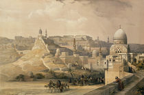 The Citadel of Cairo by David Roberts