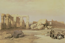 Fragments of the Great Colossus by David Roberts