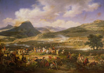 Battle of Mount Thabor von Louis Lejeune