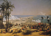 The Battle of Aboukir von Louis Lejeune