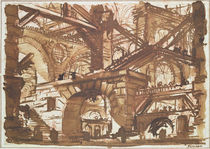 Drawing of an Imaginary Prison  von Giovanni Battista Piranesi