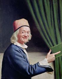 Self Portrait Smiling by Jean-Etienne Liotard